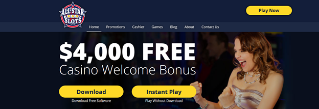 All Star Slots Casino Www Allstarslots Com Come For No Deposit